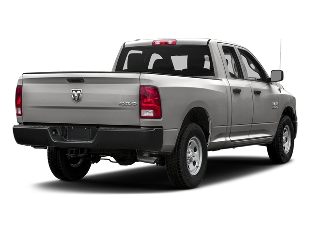 Bright Silver Metallic Clearcoat 2017 Ram Truck 1500 Pictures 1500 Express 4x2 Quad Cab 6'4 Box photos rear view