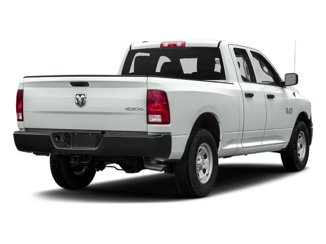 Bright White Clearcoat 2017 Ram Truck 1500 Pictures 1500 Quad Cab Express 2WD photos rear view