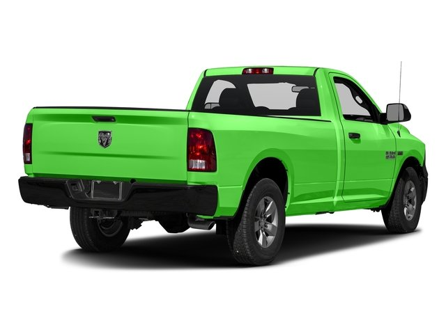 Hills Green 2017 Ram Truck 1500 Pictures 1500 Regular Cab Bighorn/Lone Star 2WD photos rear view