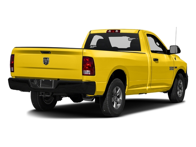 Yellow 2017 Ram Truck 1500 Pictures 1500 Regular Cab Bighorn/Lone Star 4WD photos rear view