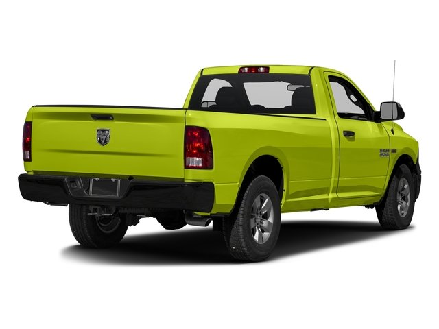 National Safety Yellow 2017 Ram Truck 1500 Pictures 1500 Regular Cab Bighorn/Lone Star 2WD photos rear view