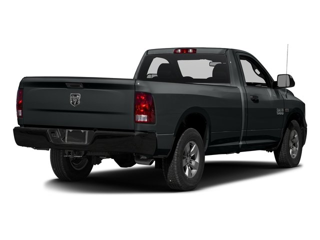 Maximum Steel Metallic Clearcoat 2017 Ram Truck 1500 Pictures 1500 Regular Cab Bighorn/Lone Star 4WD photos rear view