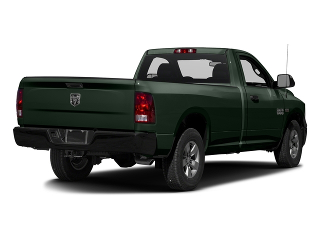 Black Forest Green Pearlcoat 2017 Ram Truck 1500 Pictures 1500 Regular Cab Bighorn/Lone Star 2WD photos rear view