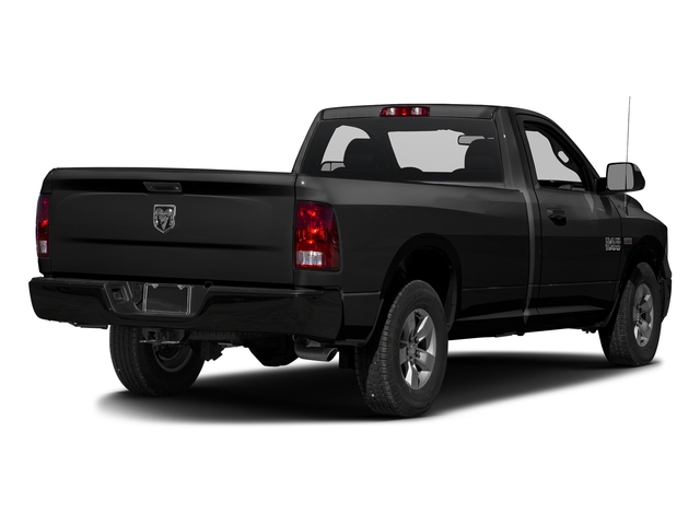 Brilliant Black Crystal Pearlcoat 2017 Ram Truck 1500 Pictures 1500 Regular Cab Bighorn/Lone Star 4WD photos rear view