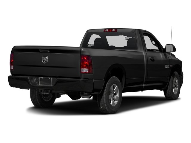Brilliant Black Crystal Pearlcoat 2017 Ram Truck 1500 Pictures 1500 Lone Star 4x2 Regular Cab 6'4 Box photos rear view