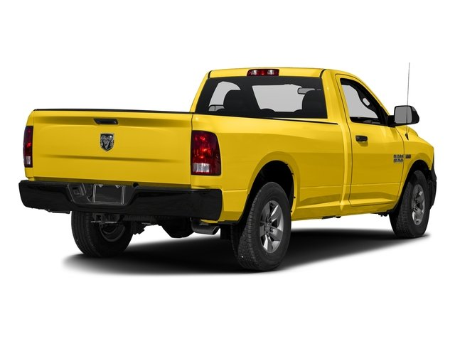 Detonator Yellow Clearcoat 2017 Ram Truck 1500 Pictures 1500 Regular Cab Bighorn/Lone Star 4WD photos rear view