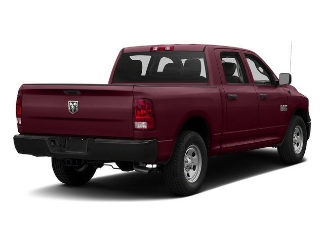 Delmonico Red Pearlcoat 2017 Ram Truck 1500 Pictures 1500 Tradesman 4x4 Crew Cab 5'7 Box photos rear view