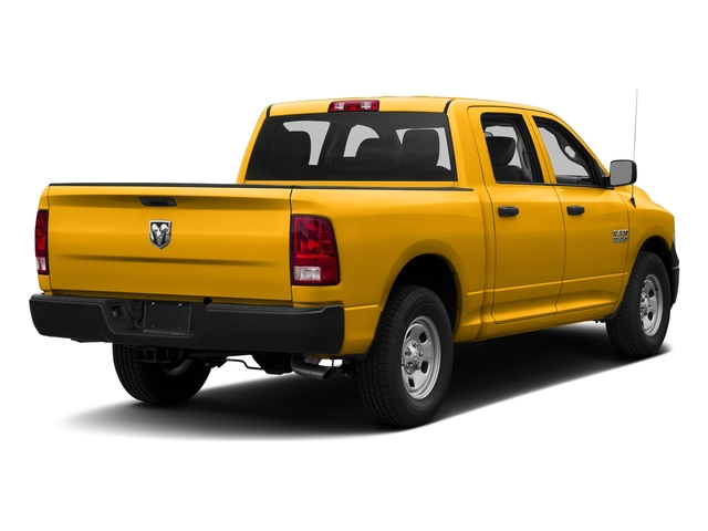 Detonator Yellow Clearcoat 2017 Ram Truck 1500 Pictures 1500 Tradesman 4x4 Crew Cab 5'7 Box photos rear view