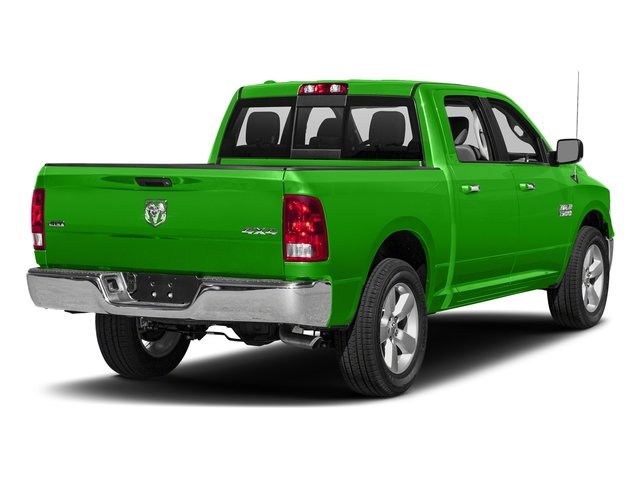 Hills Green 2017 Ram Truck 1500 Pictures 1500 Big Horn 4x2 Crew Cab 6'4 Box photos rear view