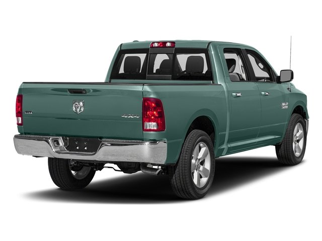Light Green 2017 Ram Truck 1500 Pictures 1500 Crew Cab SLT 4WD photos rear view