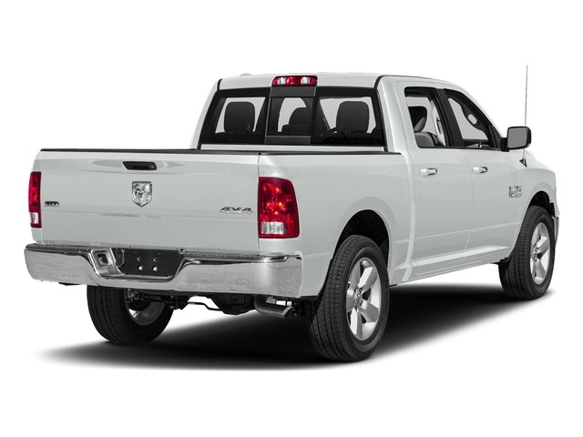 Bright White Clearcoat 2017 Ram Truck 1500 Pictures 1500 Lone Star Silver 4x2 Crew Cab 5'7 Box photos rear view