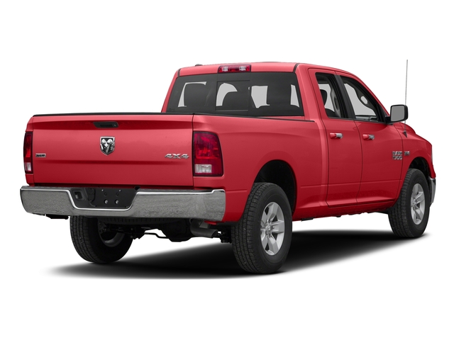 Bright Red 2017 Ram Truck 1500 Pictures 1500 Quad Cab SLT 2WD photos rear view
