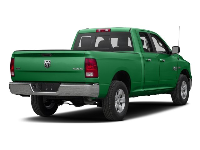 Bright Green 2017 Ram Truck 1500 Pictures 1500 Quad Cab SLT 2WD photos rear view