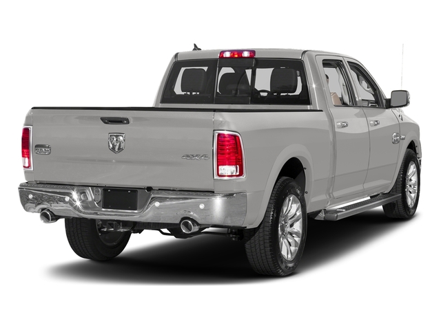 Bright Silver Metallic Clearcoat 2017 Ram Truck 1500 Pictures 1500 Limited 4x2 Crew Cab 5'7 Box photos rear view