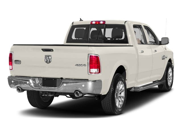 Pearl White 2017 Ram Truck 1500 Pictures 1500 Limited 4x2 Crew Cab 5'7 Box photos rear view