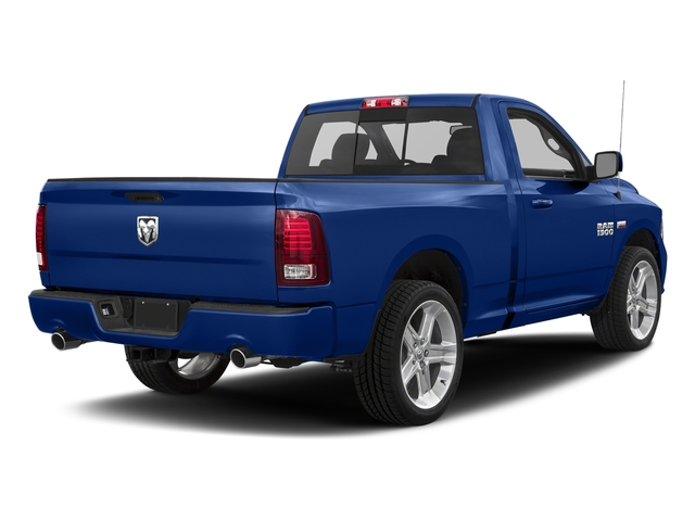 Blue Streak Pearlcoat 2017 Ram Truck 1500 Pictures 1500 Night 4x4 Regular Cab 6'4 Box photos rear view