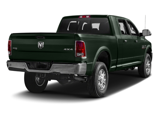 Black Forest Green Pearlcoat 2017 Ram Truck 2500 Pictures 2500 Mega Cab Laramie 4WD photos rear view
