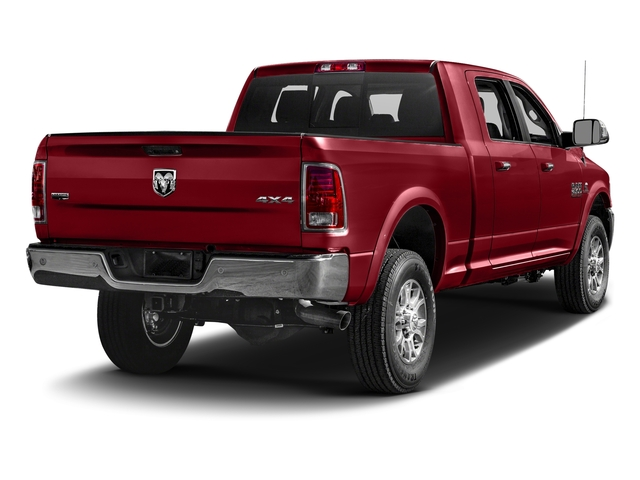 Flame Red Clearcoat 2017 Ram Truck 2500 Pictures 2500 Mega Cab Laramie 4WD photos rear view