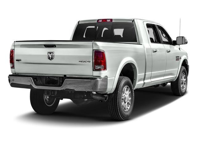 Bright White Clearcoat 2017 Ram Truck 2500 Pictures 2500 Mega Cab Laramie 4WD photos rear view