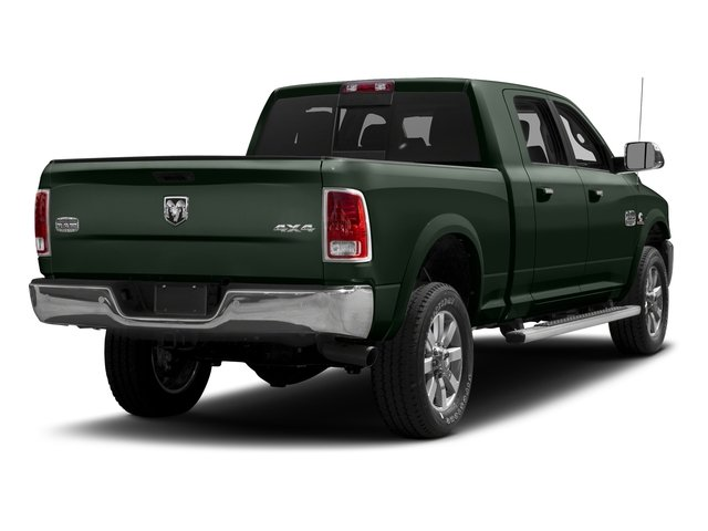 Black Forest Green Pearlcoat 2017 Ram Truck 2500 Pictures 2500 Mega Cab Longhorn 4WD photos rear view