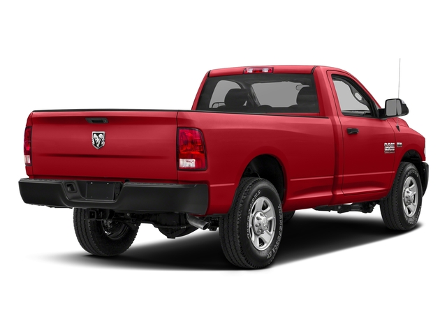Bright Red 2017 Ram Truck 2500 Pictures 2500 SLT 4x4 Reg Cab 8' Box photos rear view
