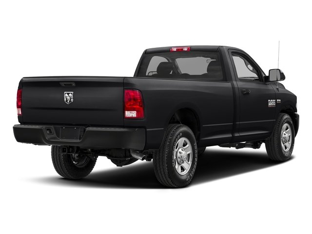 Black Clearcoat 2017 Ram Truck 2500 Pictures 2500 SLT 4x4 Reg Cab 8' Box photos rear view