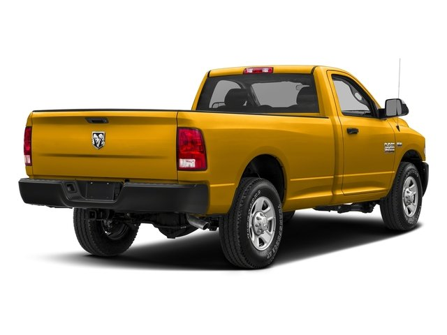Detonator Yellow Clearcoat 2017 Ram Truck 2500 Pictures 2500 SLT 4x4 Reg Cab 8' Box photos rear view