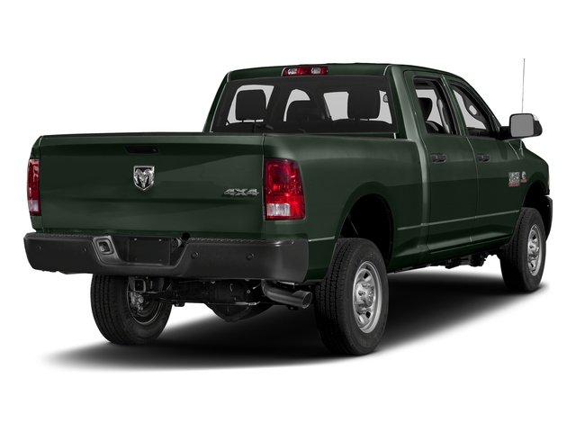 Black Forest Green Pearlcoat 2017 Ram Truck 2500 Pictures 2500 Crew Power Wagon Tradesman 4WD photos rear view
