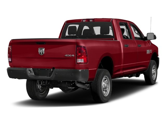 Flame Red Clearcoat 2017 Ram Truck 2500 Pictures 2500 Crew Cab Tradesman 2WD photos rear view