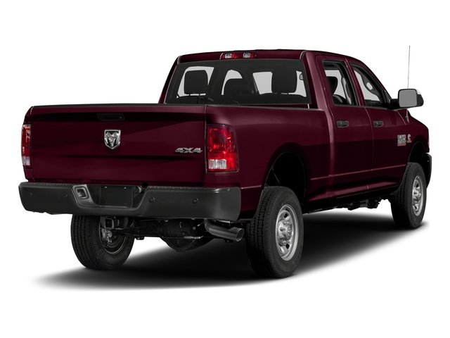 Delmonico Red Pearlcoat 2017 Ram Truck 2500 Pictures 2500 Crew Power Wagon Tradesman 4WD photos rear view