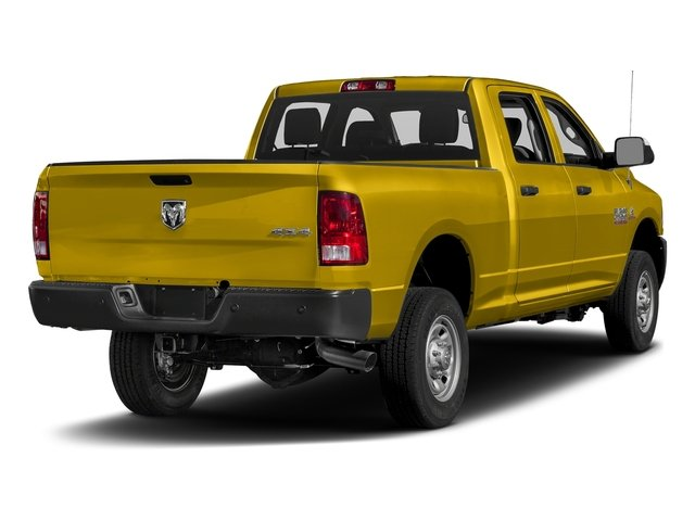 Detonator Yellow Clearcoat 2017 Ram Truck 2500 Pictures 2500 Crew Cab Tradesman 2WD photos rear view
