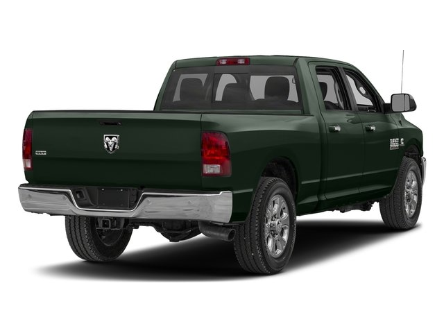 Black Forest Green Pearlcoat 2017 Ram Truck 2500 Pictures 2500 SLT 4x2 Crew Cab 8' Box photos rear view