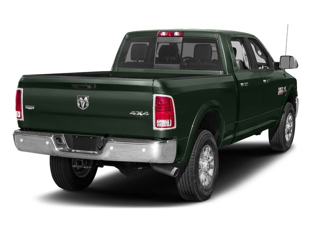 Black Forest Green Pearlcoat 2017 Ram Truck 2500 Pictures 2500 Laramie 4x2 Crew Cab 8' Box photos rear view