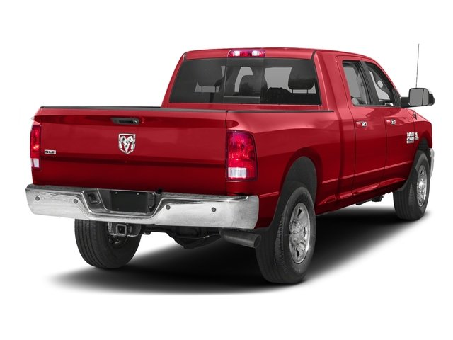 Bright Red 2017 Ram Truck 2500 Pictures 2500 SLT 4x2 Mega Cab 6'4 Box photos rear view