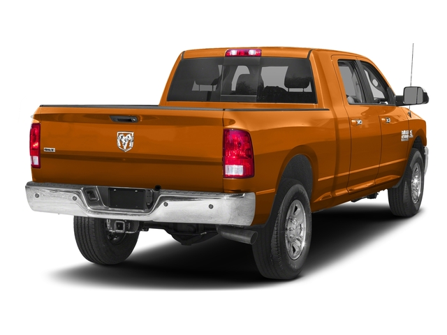 Omaha Orange 2017 Ram Truck 2500 Pictures 2500 SLT 4x2 Mega Cab 6'4 Box photos rear view