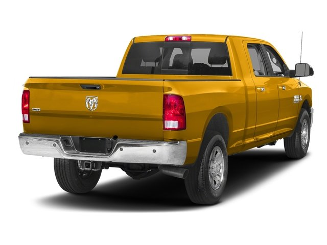 Construction Yellow 2017 Ram Truck 2500 Pictures 2500 SLT 4x2 Mega Cab 6'4 Box photos rear view