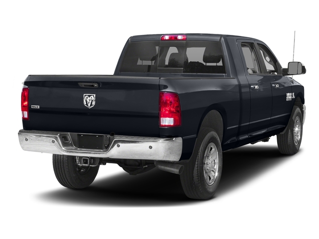 Midnight Blue Pearlcoat 2017 Ram Truck 2500 Pictures 2500 SLT 4x2 Mega Cab 6'4 Box photos rear view