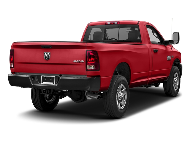 Bright Red 2017 Ram Truck 3500 Pictures 3500 Regular Cab SLT 4WD photos rear view