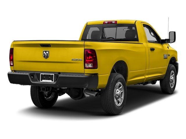 Yellow 2017 Ram Truck 3500 Pictures 3500 SLT 4x4 Reg Cab 8' Box photos rear view