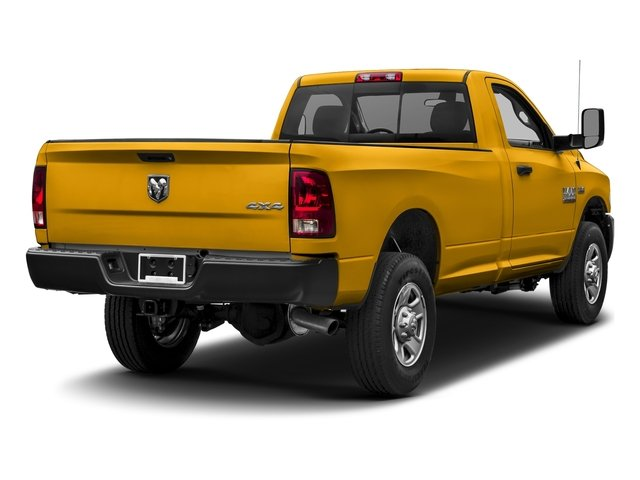 Construction Yellow 2017 Ram Truck 3500 Pictures 3500 Regular Cab SLT 4WD photos rear view