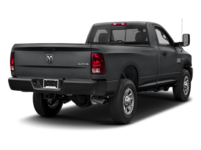 Granite Crystal Metallic Clearcoat 2017 Ram Truck 3500 Pictures 3500 Regular Cab SLT 4WD photos rear view