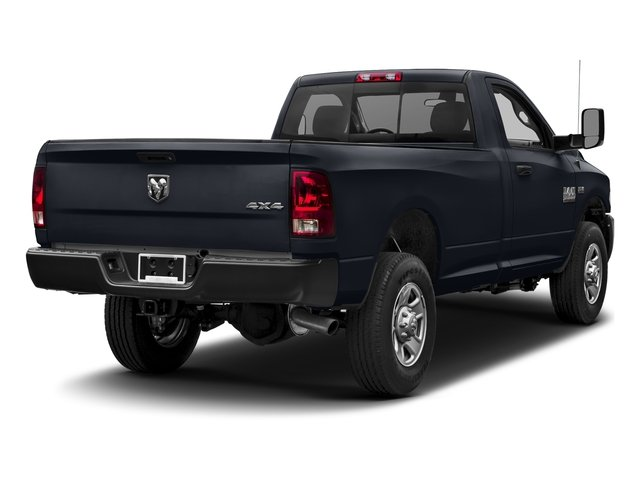 Midnight Blue Pearlcoat 2017 Ram Truck 3500 Pictures 3500 Regular Cab SLT 4WD photos rear view