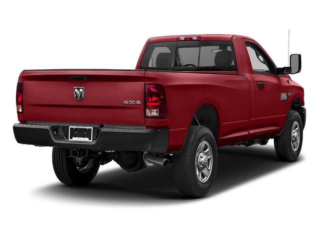 Flame Red Clearcoat 2017 Ram Truck 3500 Pictures 3500 Regular Cab SLT 2WD photos rear view