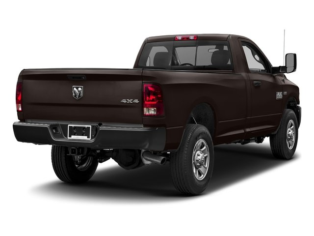 Luxury Brown Pearlcoat 2017 Ram Truck 3500 Pictures 3500 Regular Cab SLT 4WD photos rear view