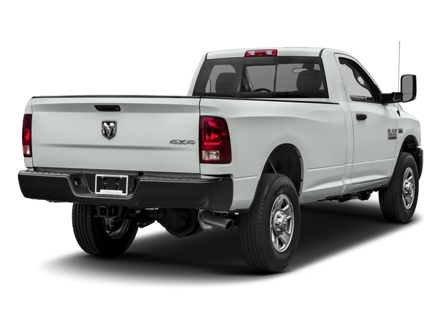 Bright White Clearcoat 2017 Ram Truck 3500 Pictures 3500 Regular Cab Tradesman 4WD photos rear view