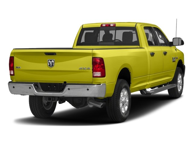 National Safety Yellow 2017 Ram Truck 3500 Pictures 3500 Crew Cab SLT 2WD photos rear view