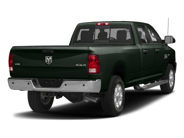 Black Forest Green Pearlcoat 2017 Ram Truck 3500 Pictures 3500 Big Horn 4x2 Crew Cab 6'4 Box photos rear view
