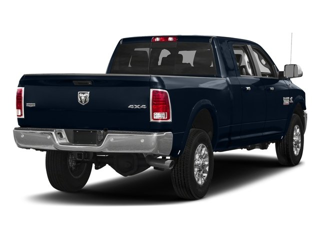 True Blue Pearlcoat 2017 Ram Truck 3500 Pictures 3500 Mega Cab Longhorn 4WD photos rear view