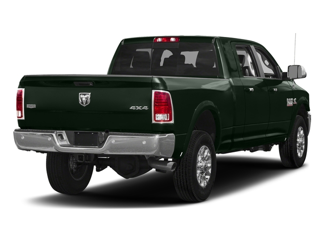 Black Forest Green Pearlcoat 2017 Ram Truck 3500 Pictures 3500 Mega Cab Longhorn 4WD photos rear view