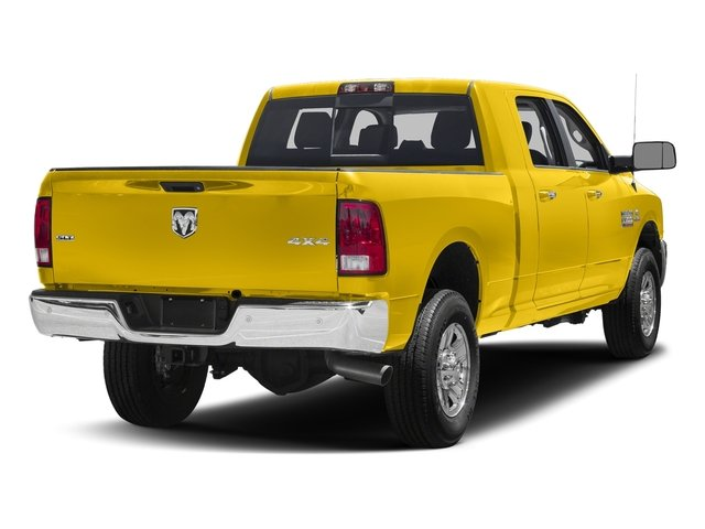 Yellow 2017 Ram Truck 3500 Pictures 3500 SLT 4x2 Mega Cab 6'4 Box photos rear view